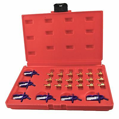 Common Rail Adapter Set / Einspritzdüse Durchflußmesser set 24pc