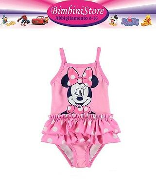 Costume mare piscina neonata minnie disney originale