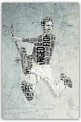 Pete Townshend The Who Won't Get Fooled Again Satin Poster 3 Sizes