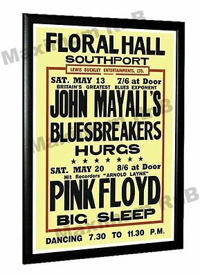 Pink Floyd Concert Poster Floral Hall Southport  May 1967
