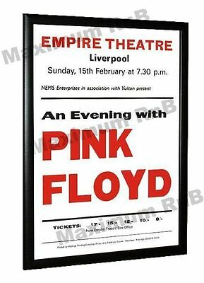 Pink Floyd Concert Poster Liverpool Empire 1970