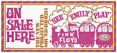 Pink Floyd See Emily Play Repro PROMO Poster