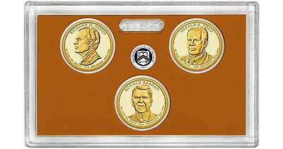 2016 - S Presidential 3-coin Proof Set w/Box & COA--BELOW MINT ISSUE COST