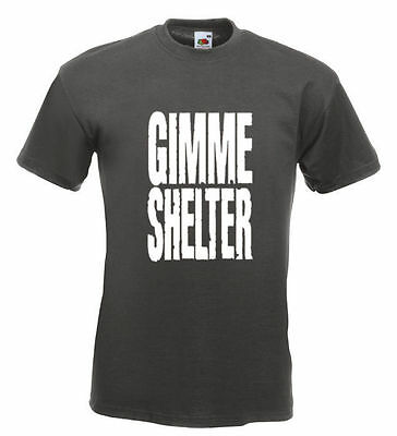 Rolling Stones Tee Shirt Gimme Shelter 16 Colours All Sizes