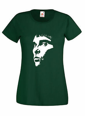 Stone Roses Ian Brown  Face Skinny Fit T Shirt  - 10 Colours - Brand New