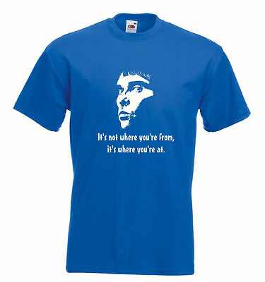 Stone Roses Ian Brown Quote T Shirt - It's Not Where You're From...