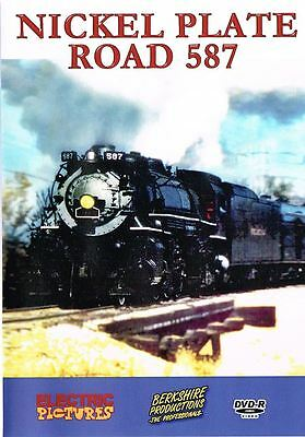Nickel Plate Road 587, a DVD by Berkshire Videography
