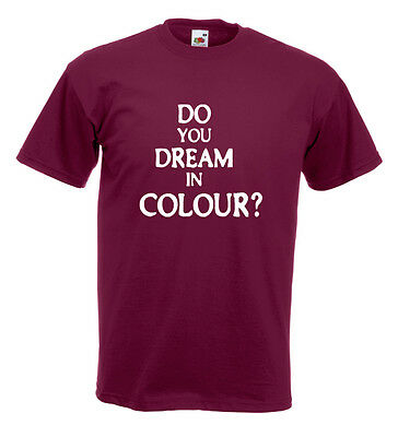 Bill Nelson Red Noise Be Bop Deluxe Inspired T Shirt - Do You Dream In Colour
