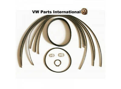 VW G40 G60 Rallye Supercharger Apex Seal Strips & Wide Toothed Belt Kit New