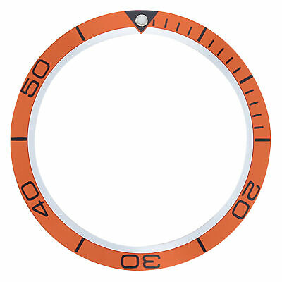 Bezel Insert For Omega Seamaster Planet Ocean 2209.50.00 Fit 42Mm Case Orange