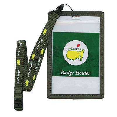 2017 Masters Golf Badge Holder LANYARD from Augusta National - SHIPS FAST