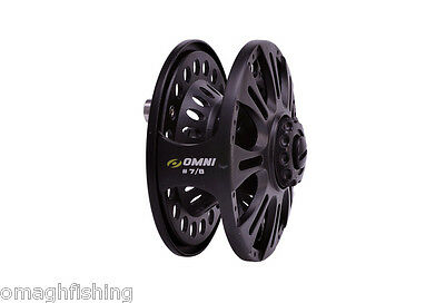 Shakespeare Omni Fly Reel Sizes: 6/7 + 7/8 WT Trout Game Fishing