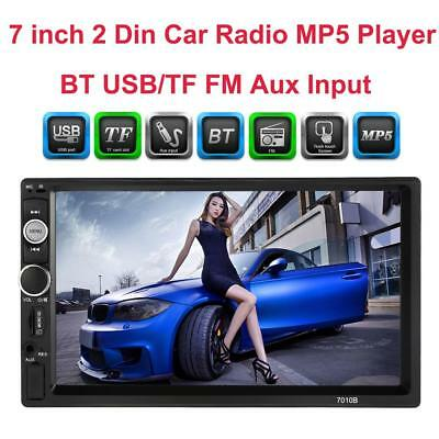 """Universal 7"""" Double 2 Din bluetooth HD Car Multimedia Radio Stereo MP5 Player"""