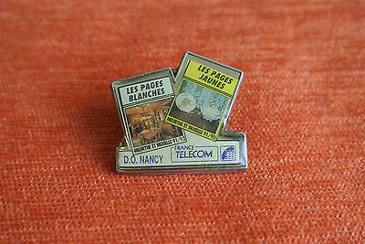12048 Pin's Pins Ptt France Telecom Annuaires Meurthe Et Moselle Nancy Pages