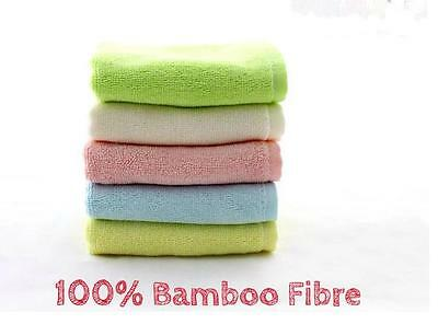4 pcs 18.5×19cm (small) 100% Bamboo Baby Infant Face Washers Bath Towels wipes