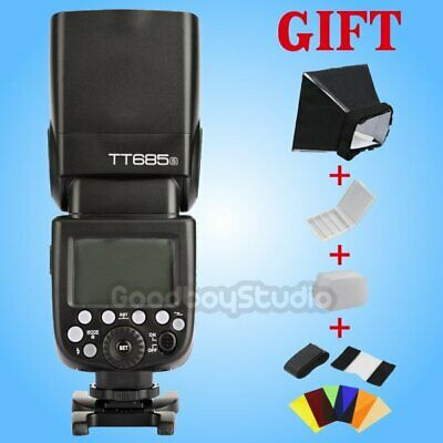 Godox TT685S 2.4G HSS TTL II GN60 Camera Flash Speedlite for Sony a77II a7R DSLR