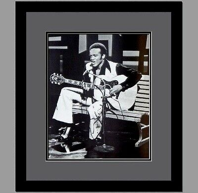 Bobby Womack Framed & Double Matted Photo LIPF