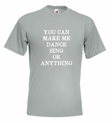 Rod Stewart Faces T Shirt - You Can Make Me Dance Sing Or Anything