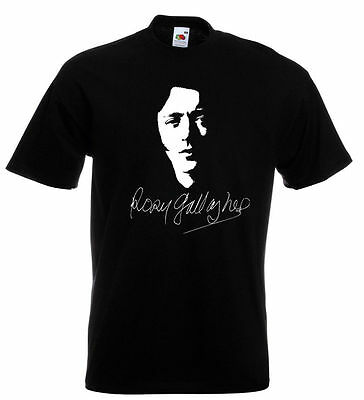 Rory Gallagher Autograph T Shirt - Taste Shadow Play  Ladies and Mens Sizes NEW