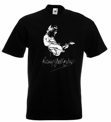 Rory Gallagher Autograph T Shirt - Taste Shadow Play -  Ladies and Mens Sizes