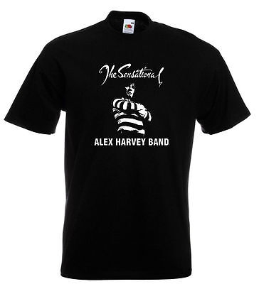 Sensational Alex Harvey Band T Shirt Zal Cleminson The Faith Healer Vambo