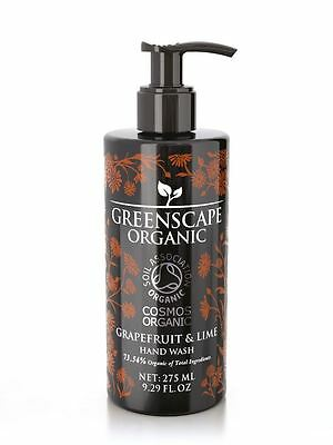 Greenscape Organic Grapefruit & Lime Hand Wash 275ml