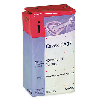 CAVEX CA37 NORMAL SET ALGINATO 10 x 500gr. DENTAL ALGINATE.