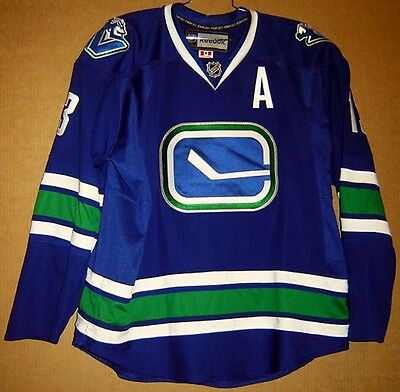 Vancouver Canucks Mats Sundin Authentic Nhl Jersey