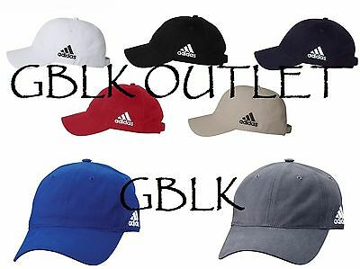 Adidas Golf Unstructured Cresting Cap A12 Cotton Baseball Hat 7 Colors NEW