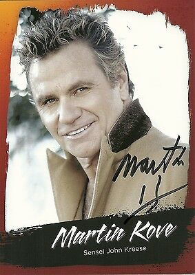 Martin Kove Authentic Signed Print