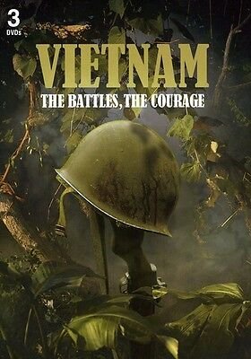 Vietnam: The Battles, the Courage [3 Discs] (2011, DVD NUEVO) Thinpak (REGION 1)