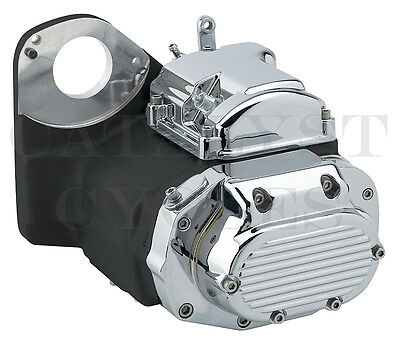 Black Ultima 6-Speed Transmission for Harley Six Speed Transmission (IN STOCK!)