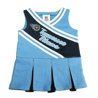 7f8d70ca1 New NFL Tennessee Titans Infant Girls Cheerleader Dress Size 12-18 Months