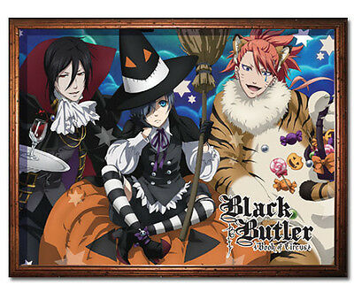 "60"" Halloween Black Butler Book of Circus Throw Blanket (GE-57687) Kuroshitsuji"