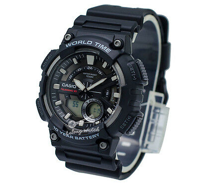 -Casio AEQ110W-1A Analog-Digital Watch Brand New & 100% Authentic