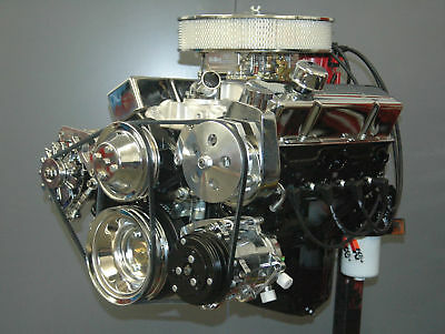 Hot Rod Deluxe Chev 350 Complete Turnkey Engine