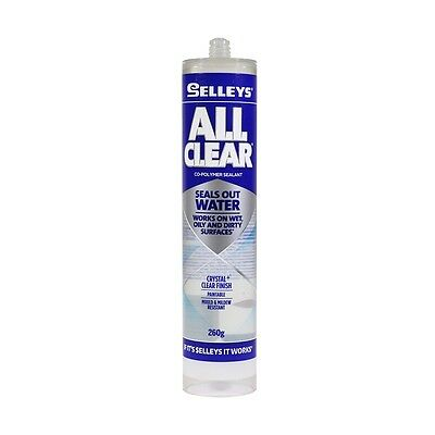 SELLEYS All Clear Seals Out Water 260g Works On Wet,Oily,Dirty Surface