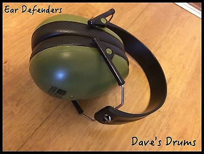 Drummers Ear Defenders // Free Shipping