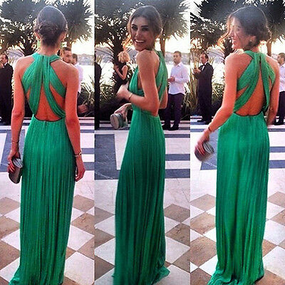 Sexy Lace Long Evening Formal Party Cocktail Maxi Dress Bridesmaid Prom Gown