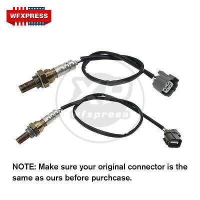 Upstream & Downstream Oxygen O2 Sensor for 01 02 03 04 05 Honda Civic 1.7L D17A7
