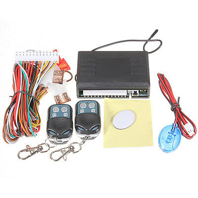 Universal Car Remote Fob Control Central Door Locking Keyless Entry System Kit