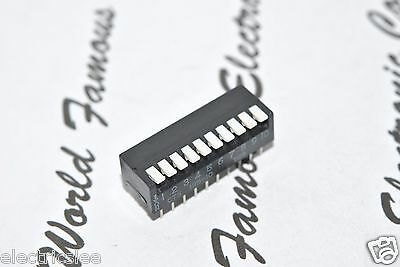 1pcs - CTS 195-10 T128 10-Way/Position DIP-20 IC Switch