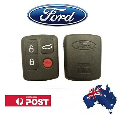 Ford BA BF Falcon 4 Button Remote Control - With Logo - High Quality