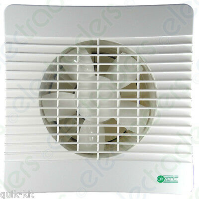 "Airvent 435403 Low Profile Extractor Fan 150mm / 6"" Standard Model"