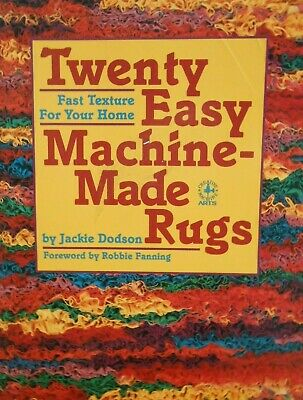 20 EASY MACHINE-MADE RUGS sew rag rugs for your home.