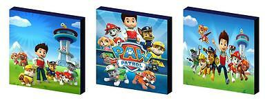 Paw Patrol Art Blocks/ Wall Art Plaques/pictures