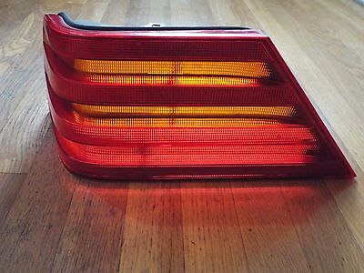 Original 1991-1992-1993-1994 Mercedes Benz W140 Series Tail Light Lens- LH