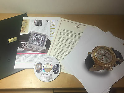 Press Release - ZANNETTI Watches Montres Relojes - Baselworld 2006 - English