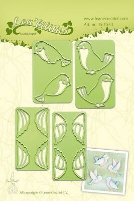 LeCreaDesign Small Birds Lea'bilities Leane Creatief Cutting Die 45.1543