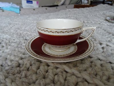 Crown Ducal  Bone China Tea Cup & Saucer Made In England (1)